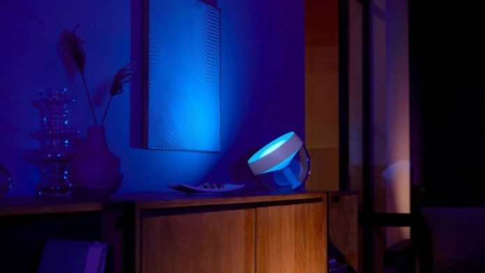 Philips Hue Iris Table Lamp
