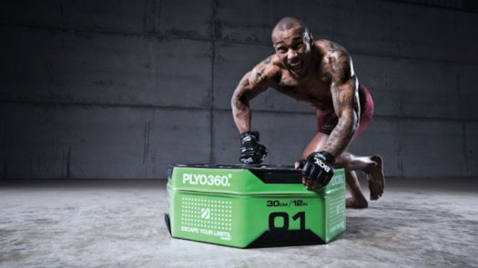 Escape Fitness PLYO360 Gym Jumping Box