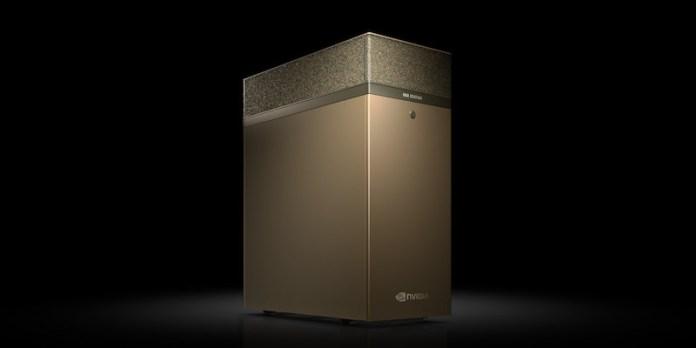 NVIDIA DGX STATION A100 desktop workstation
