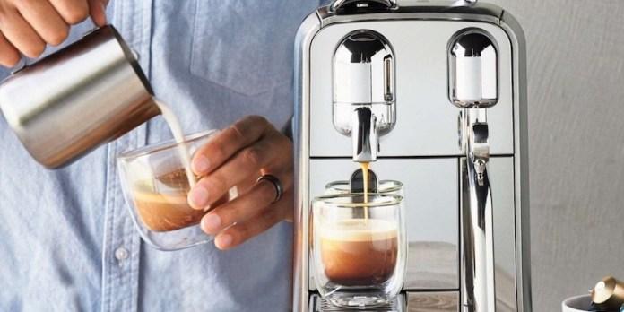 Nespresso Creatista Plus espresso drink maker