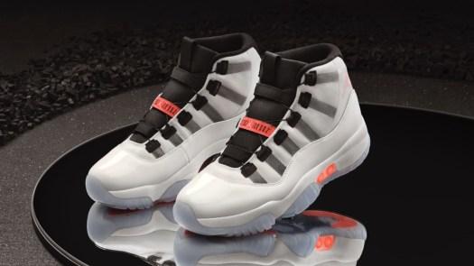 Nike Air Jordan XI Adapt Jumpman shoes design