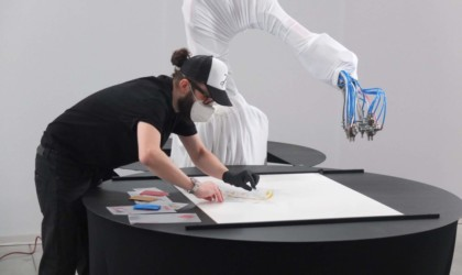 Proximars Painting Collection robot-made art