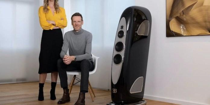 Bugatti & TIDAL Audio Royale speaker range