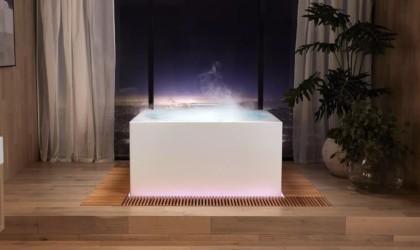 Kohler Stillness Bath smart bath tub