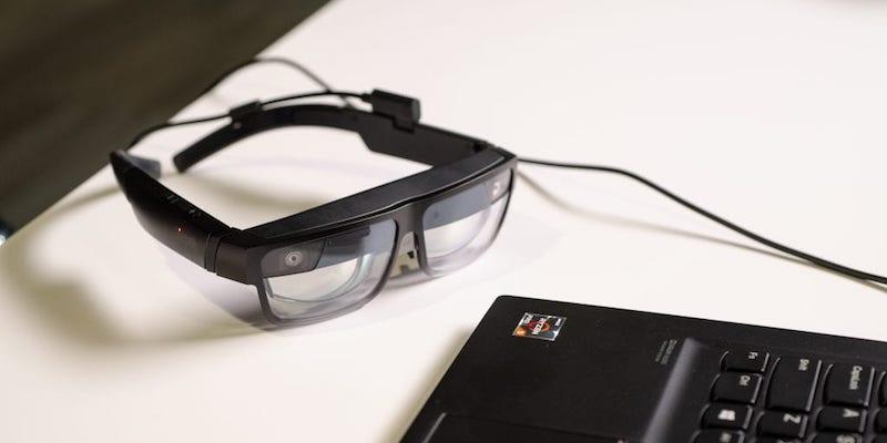 Lenovo ThinkReality A3 glasses