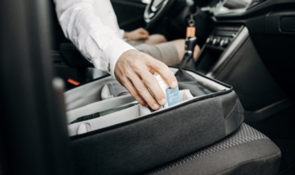 izzy smart car organizer