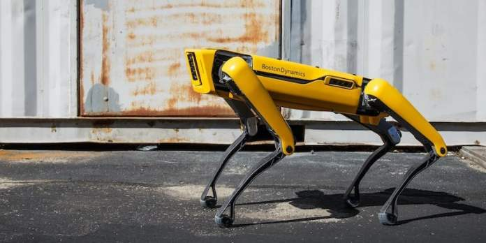 Boston Dynamics Spot Intelligent Robot Dog