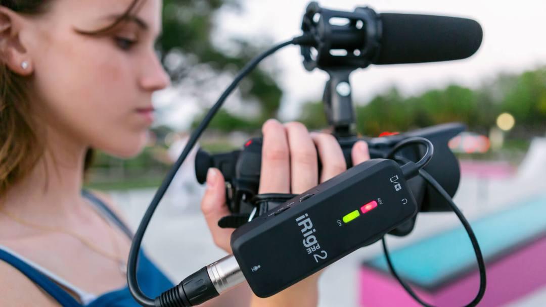 IK Multimedia iRig Pre 2 mobile microphone