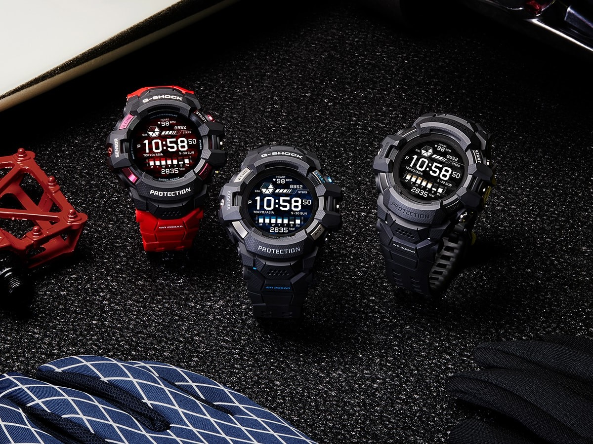 CASIO G-SHOCK G-SQUAD PRO GSW-H1000 watch series works with Google Wear OS  » Gadget Flow