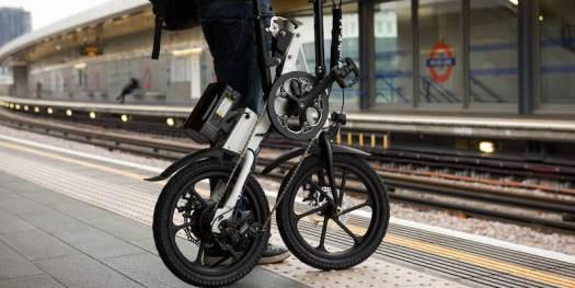 KwikFold X-ite 3A electric folding bike