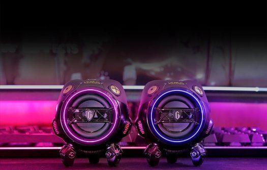 GravaStar Venus portable speaker is a cyberpunk audio powerhouse with RGB lighting
