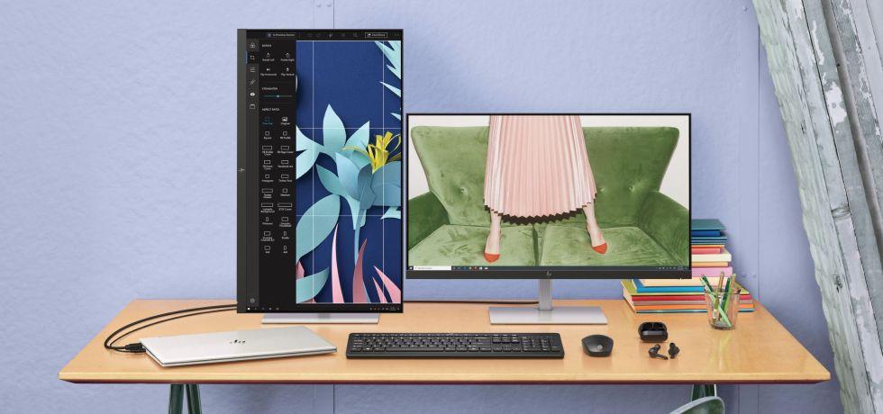 "HP U28 4K HDR. צילום יח""צ"