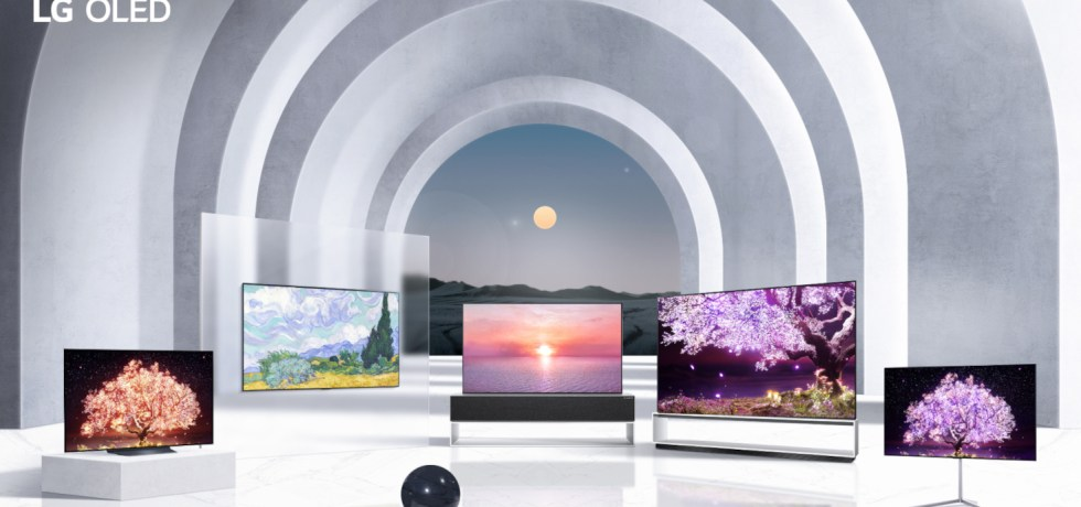 "LG OLED CES 2021. צילום יח""צ"