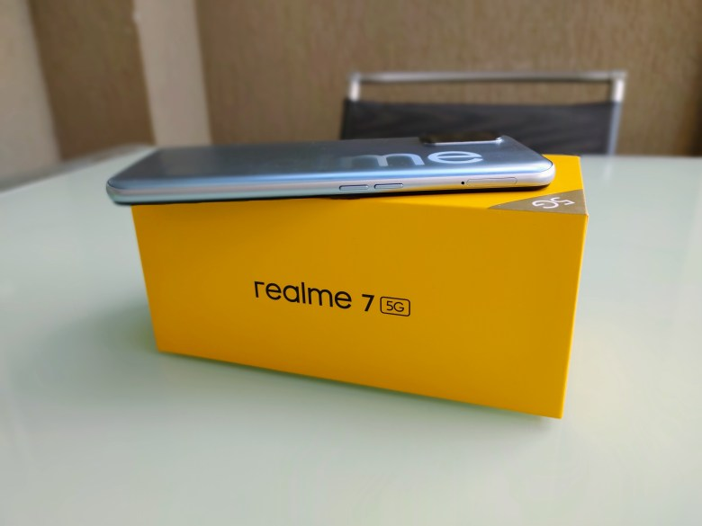realme 7 5G. צילום צחי הופמן