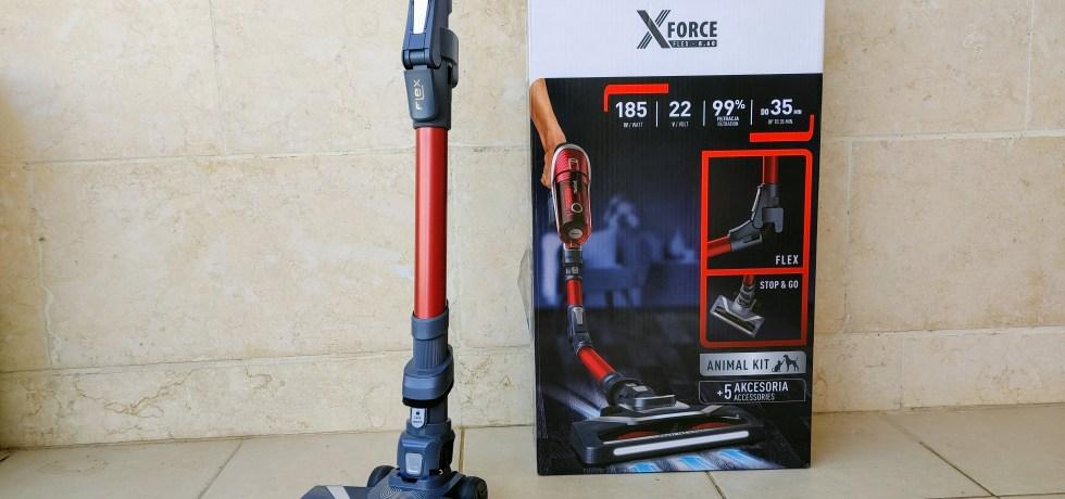 Tefal X Force Flex 8.60 TY9679. צילום צחי הופמן