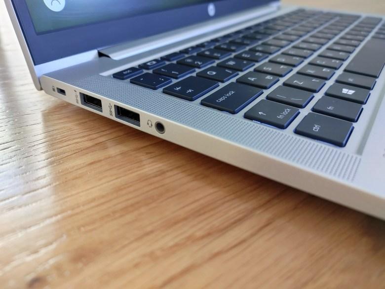 HP ProBook 635 Aero G7. צילום צחי הופמן