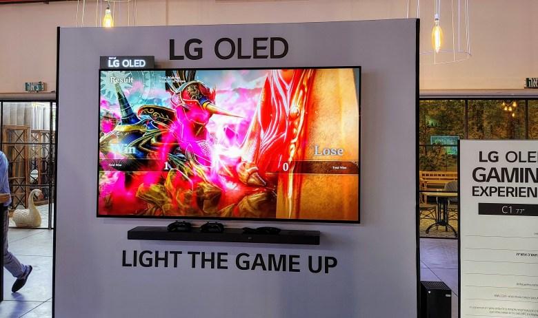LG C1. צילום צחי הופמן