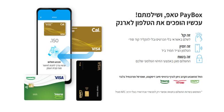 PayBox Tap. צילום מסך