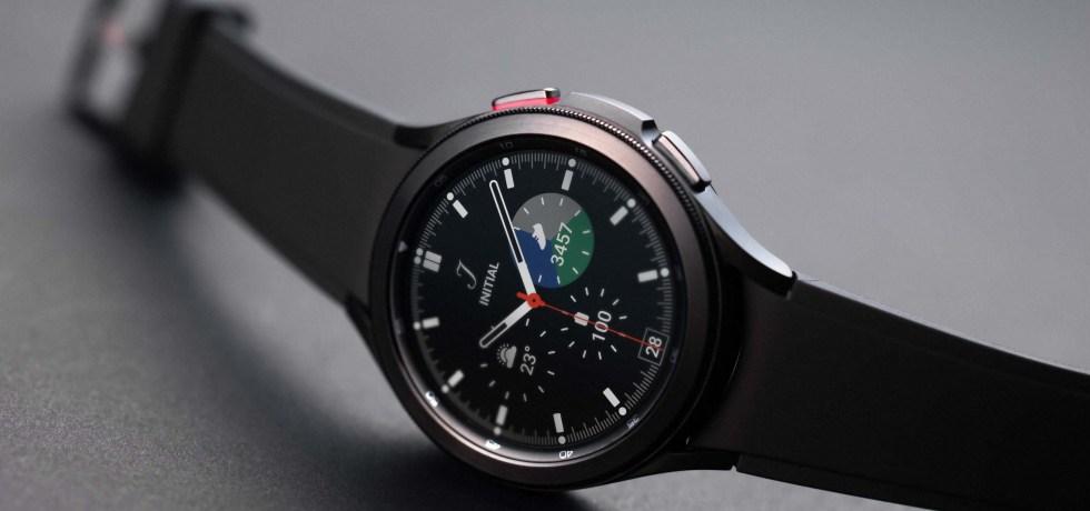 """סמסונג Galaxy Watch 4 Classic. צילום יח""""צ"""