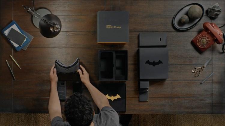 Batman-Inspired Samsung Galaxy S7 Edge Injustice Edition thegadgetsfreak.com