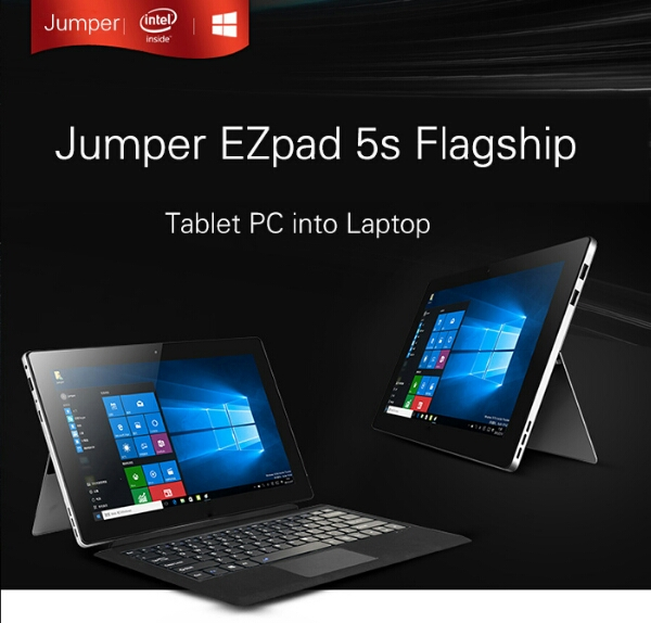 Jumper EZpad 5s and EzBook 2: Affordable Surface and Mackbook Air Clones