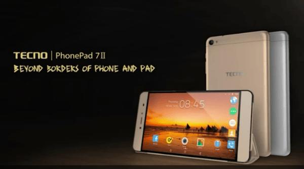 Tecno PhonePad 7II (Tecno 7E) 4G LTE Voice Calling Tablet