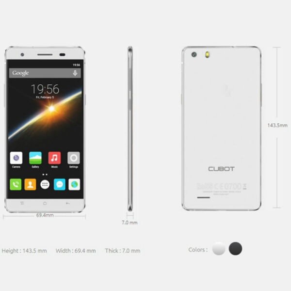 Cubot X16 S with 3GB RAM and Android 6.0 Now on Pre-Sale