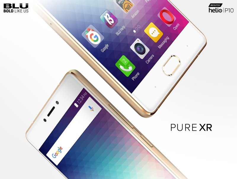 BLU Pure XR Debuts in the US with Helio P10 SoC & $300 Price Tag