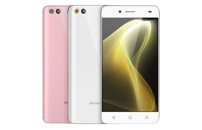 Sharp M1 - Sharp Aquos M1 (FS8001) Debuts in Taiwan for TWD 8990