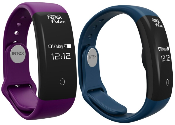 Intex fitRist Pulzz with OLED display, heart rate sensor & IPX7 Water Resistance