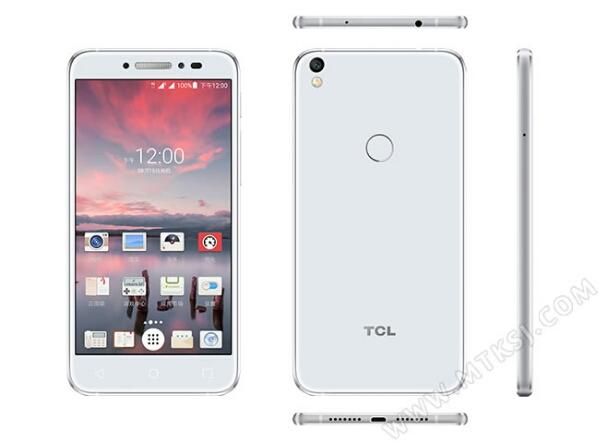 TCL 520: 5-inch HD display, MTK6737, Fingerprint Sensor