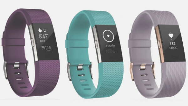 Fitbit Charge 2 and Fitbit Flex 2