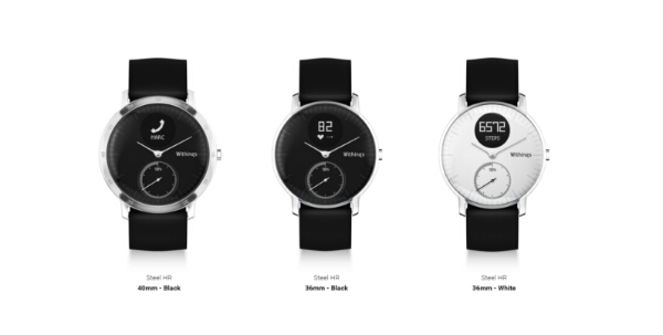 Withings Steel HR Activity Tracking Watch with Heart Rate Monitoring