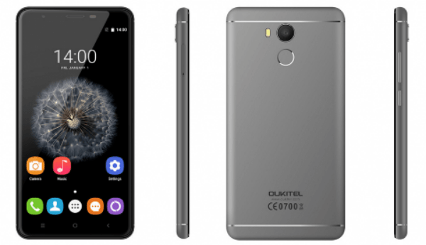 TGF - Oukitel U15 Pro: 5.5-inch display, 3GB RAM, Fingerprint Sensor