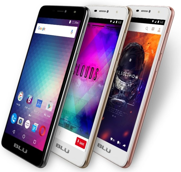 BLU Studio XL 2: 6-inch Display, Android 6.0, 4900mAh Battery