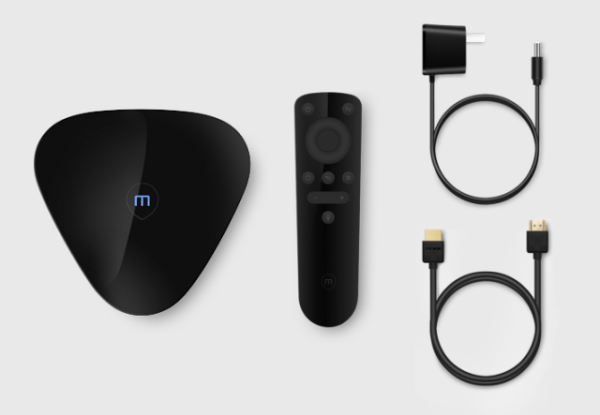 Meizu Box Flyme-Powered Android TV Box with Bluetooth Voice Remote