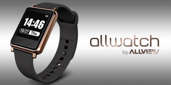 Allview Allwatch with IP67 Rating, Heart Rate Monitor Costs EUR 80