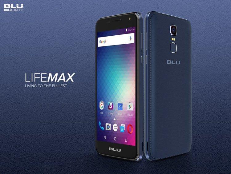 BLU Life Max With 2GB RAM, MTK6737 SoC, 3700mAh Battery