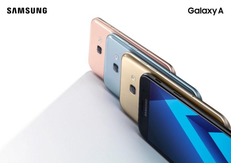 Specs Comparison: Samsung Galaxy A3 (2017) vs A5 (2017) vs A7 (2017)
