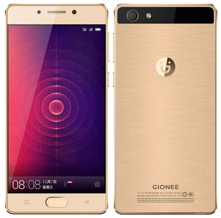 Gionee Steel 2 4G VoLTE Smartphone With 4000mAh battery