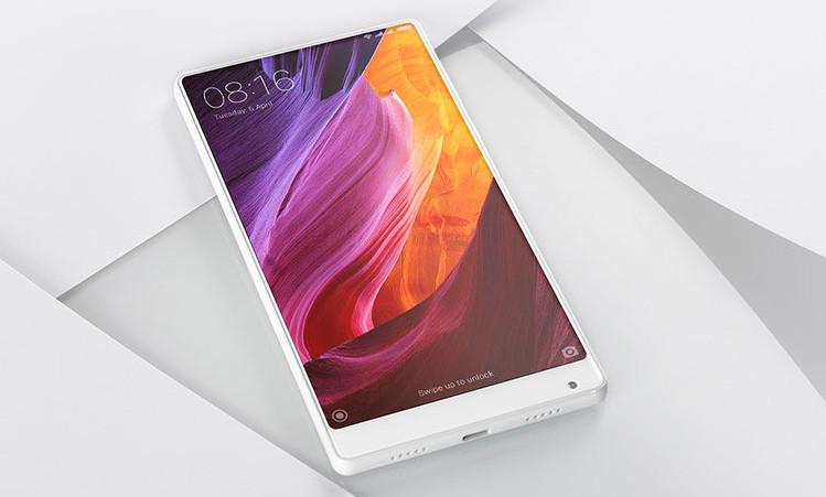 CES 2017: Pearl White Xiaomi Mi MIX, Xiaomi Mi TV 4, Mi
