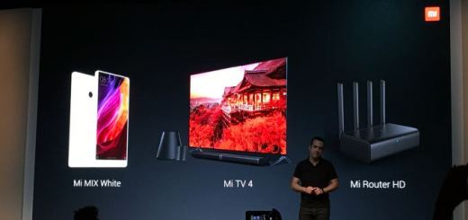 CES 2017: Pearl White Xiaomi Mi MIX, Xiaomi Mi TV 4, Mi Router HD 802.11ac router