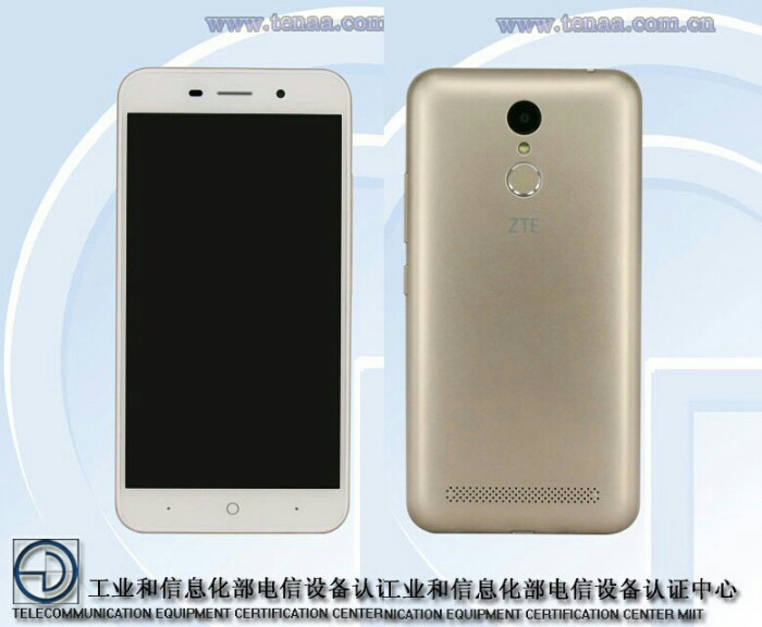 ZTE BA 602 (Blade A602) with Entry-Class Specs Certified in China