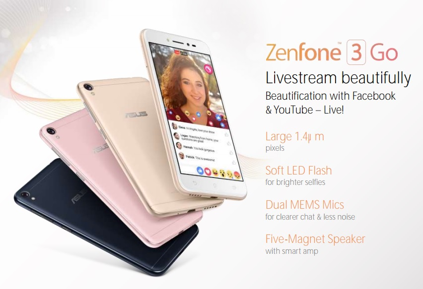 Asus ZenFone 3 Go Renders Surfaces Ahead Of MWC