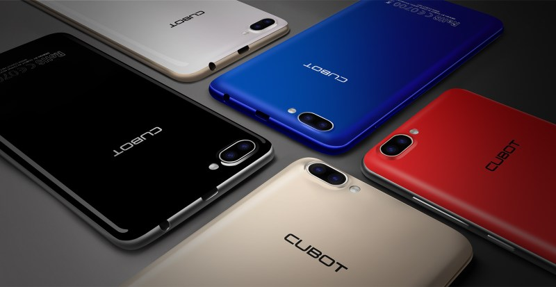 Cubot Rainbow 2: Entry-Level Nougat Smartphone with Dual Rear Cameras