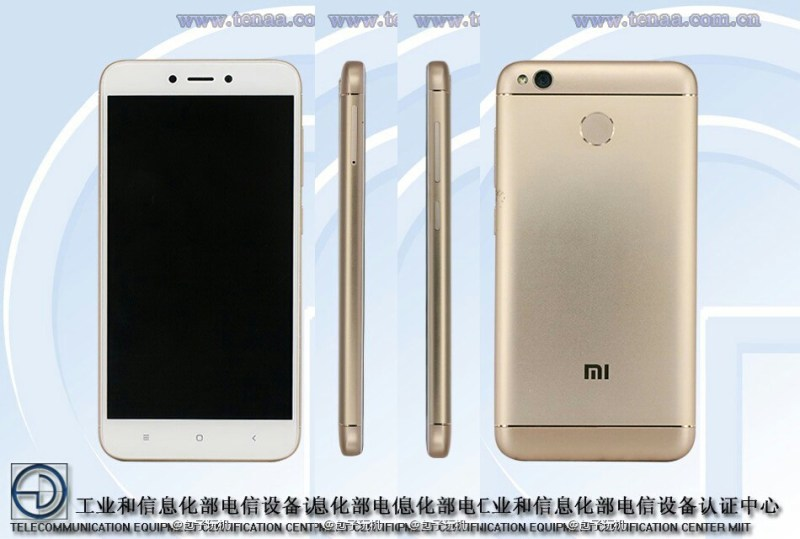 Xiaomi MAE136/MBE6A5 Certified On TENAA; Could Be The Redmi 4X/Redmi 5