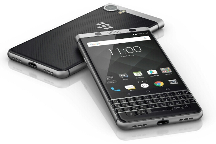 TCL Unveils Blackberry KEYone Android OS Smartphone with Physical Keyboard