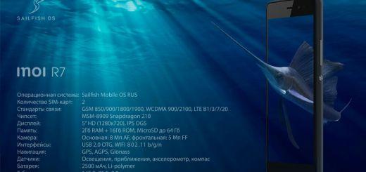 INOI R7 Sailfish OS