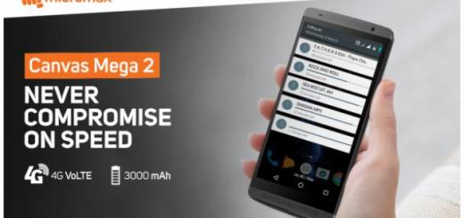 Micromax Canvas Mega 2 Plus Launched with 6-inch display, 4G VoLTE