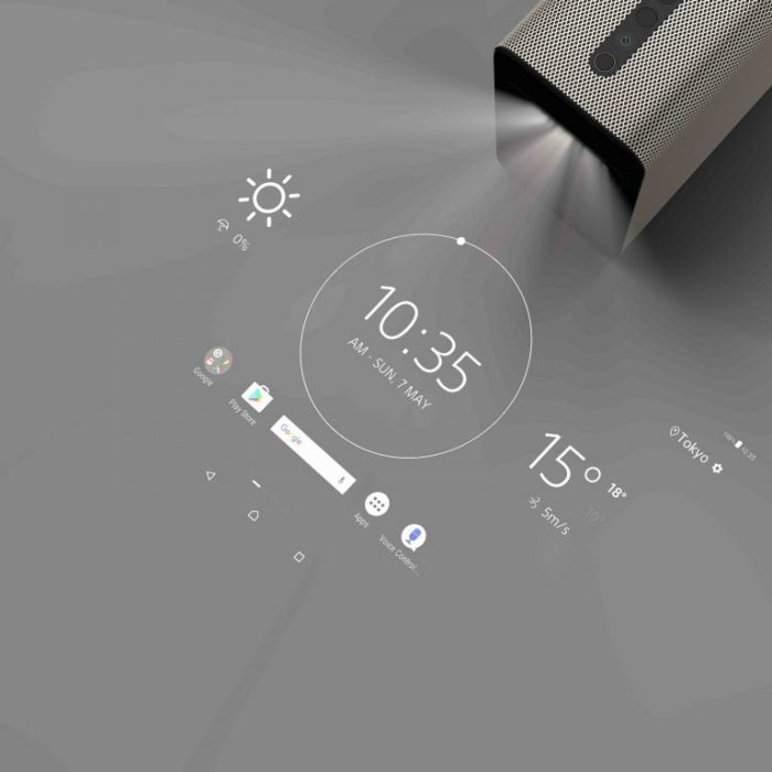 Sony Xperia Touch Interactive Projector Turns Surfaces into Touchscreen